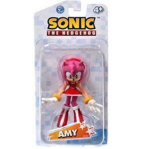 Sonic The Hedgehog Amy Rose 3.5 Inch Plastic Actio